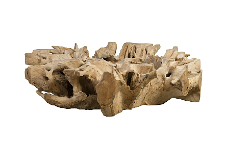Teak Root Coffee Table  Round