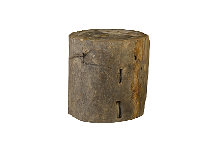 Petrified Wood Stool, Colossal