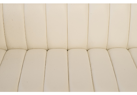 Bordo Sofa Suar Wood, Natural/Brass Finish