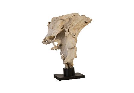 Teak Root sculpture on Stand
