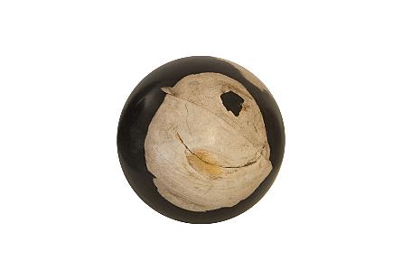Petrified Wood Ball MD