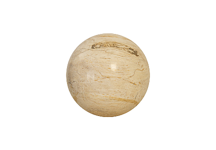 Petrified Wood Ball SM