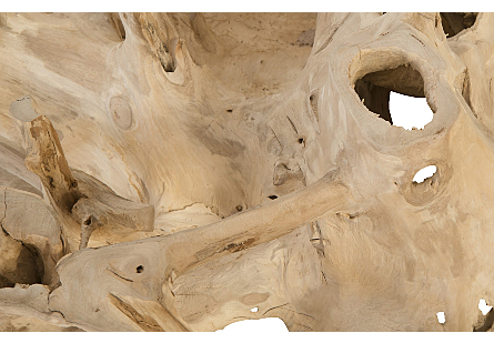 Teak Wood Coffee Table Bleached, Square
