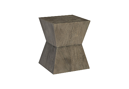 Suar Wood Side Table