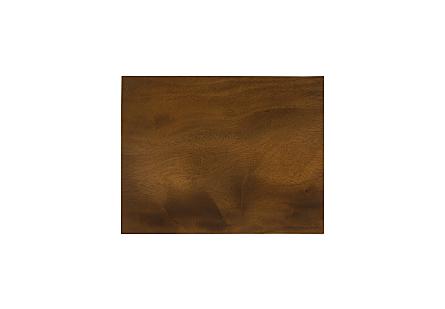 Suar Wood Sdie Table Natural, SM