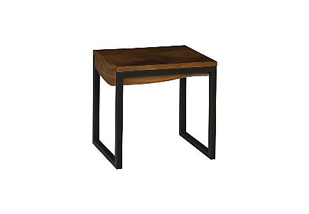 Suar Wood Side Table Natural, SM