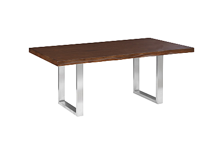 Engineered Suar Dining Table High Gloss finish