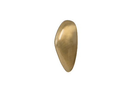 River Stone Wall Tile Brass Finish, LG