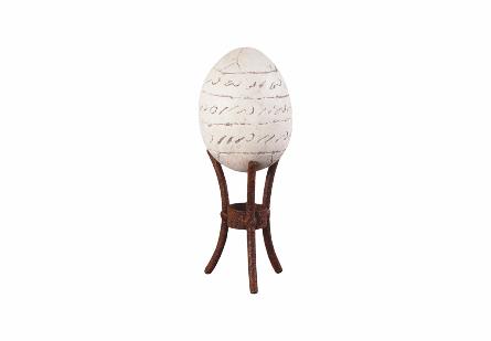 Kalimantan Egg w/ Stand