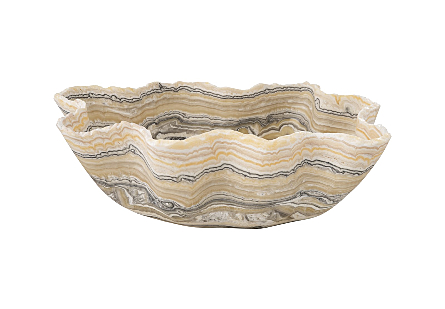 Onyx Bowl Canoe/White