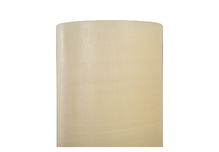 Onyx Cylindrical Lamp White