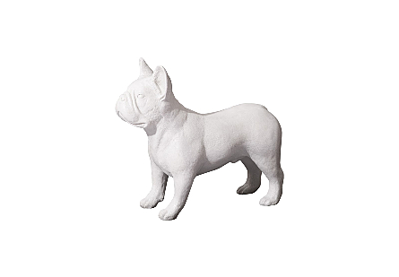 French Bulldog Gel Coat White