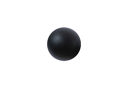 Ball on the Wall Matte Black, XS