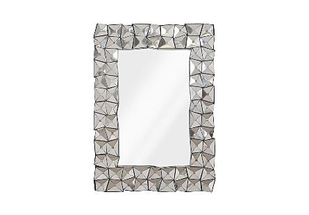 Divot Mirror Stainless Steel