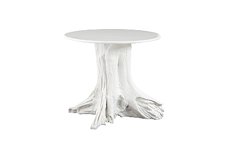 Root Bistro Table Gel Coat White