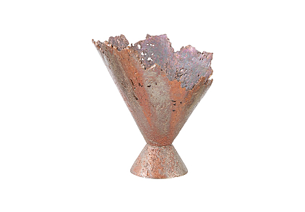 Splash Bowl, Oxidized Copper Finish