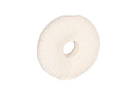 Waves Circle Vase LG