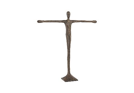 Ollie Sculpture Resin, Bronze Finish