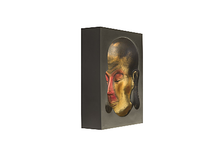 Buddha Head Wall Art