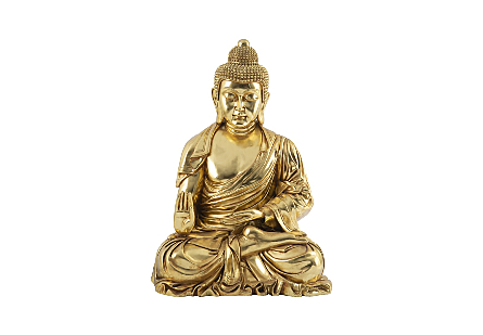Enchanting Buddha Gold Leaf