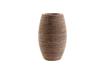 Elonga Planter Natural Weave, SM