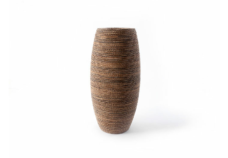 Elonga Planter Natural Weave, MD