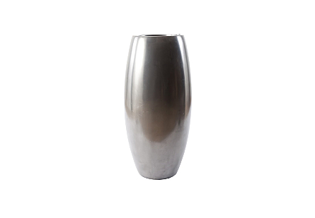 Elonga Planter Polished Aluminum, MD