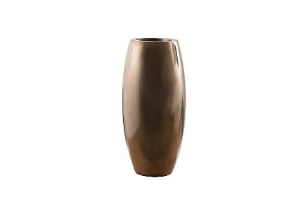 Elonga Planter Polished Bronze, MD