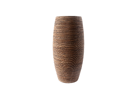Elonga Planter Natural Weave, LG