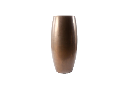 Elonga Planter Polished Bronze, LG