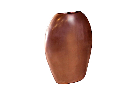 Pod Sculptural Vase Polished Bronze, LG