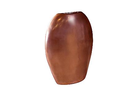Pod Sculptural Vase Polished Bronze, LG