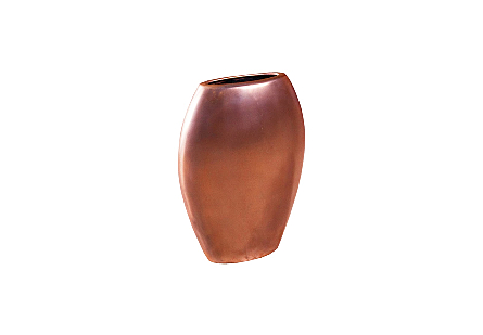 Pod Sculptural Vase Polished Bronze, SM