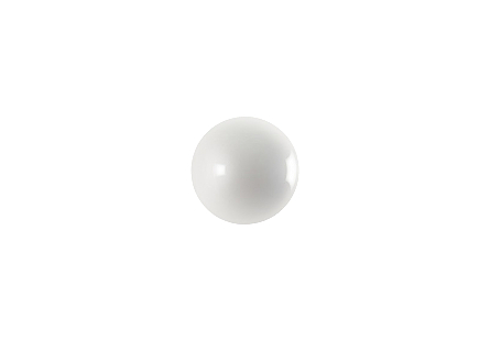 Ball on the Wall Extra Small, Pearl White