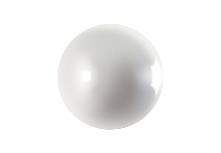 Ball on the Wall Pearl White, LG