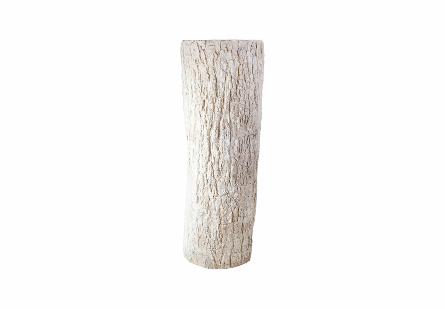 Bark Pedestal Roman Stone, LG