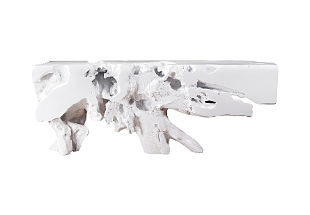 Freeform Console Table White, LG