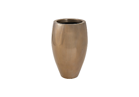 Classic Planter Polished Bronze, SM