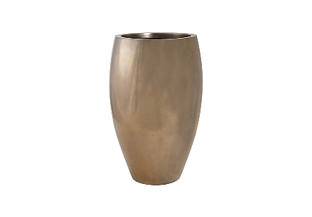 Classic Planter Polished Bronze, LG