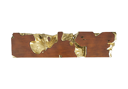 Freeform Console Table Gold Leaf, SM