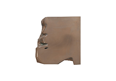Freeform Stool Bronze, SM