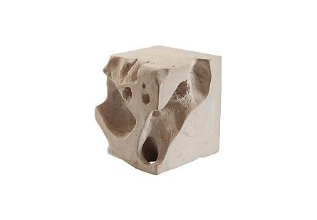 Freeform Stool Roman Stone, SM