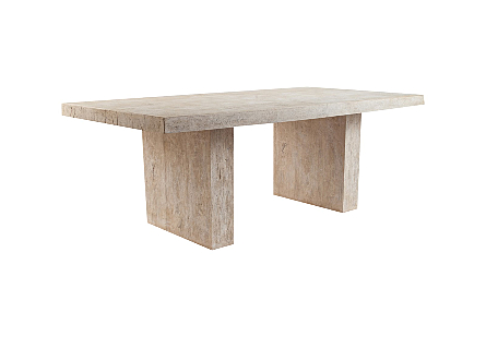 Old Lumber Dining Table Roman Stone