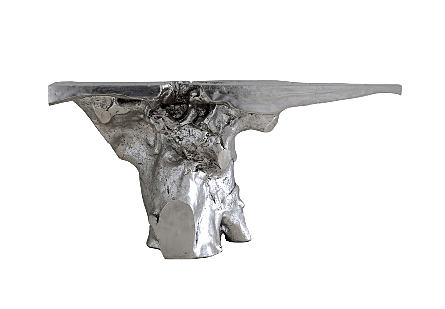 Crown Console, Silver Leaf