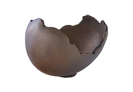 Burled Bowl Resin, Bronze Finish