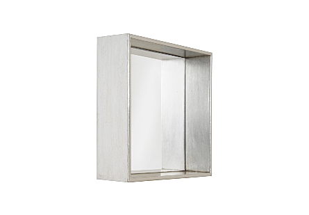 Twist Wall Tile Indented Mirror