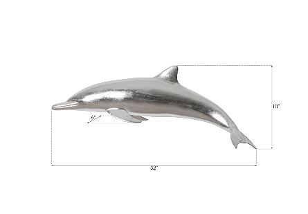 Dolphin Silver Leaf