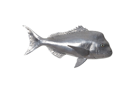Australian Snapper Fish Polished Aluminum