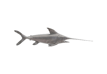Broadbill Swordfish Fish Polished Aluminum
