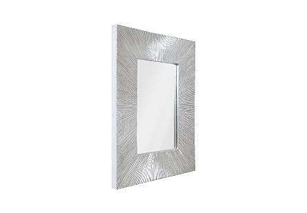 Rivvlet Mirror Silver Leaf